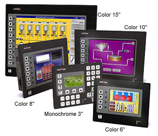Red Lion Controls G3 HMI family