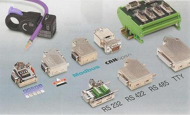 Phoenix Contact SUBCON SUB-D serial interface connectors