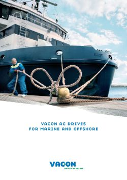 Danfoss VACON AC drives for marine solutions