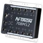 Red Lion N-Tron 708M12 8 port managed industrial Ethernet switch