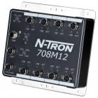 Red Lion N-Tron 708M12-HV 8 port managed industrial Ethernet switch