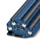 Phoenix Contact Terminal block push-in 2-level blue 3209617 PTTBS 2,5 BU (10 pack)