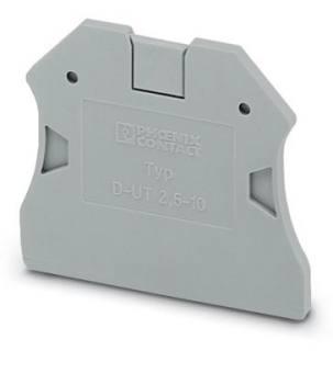 Phoenix Contact Terminal block end cover 3047028 D-UT 2,5/10 (10 pack)