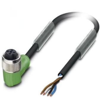 Phoenix contact sensor cable 1668247 sac 4p 5 0 pur m12fr - Detector cables pared ...