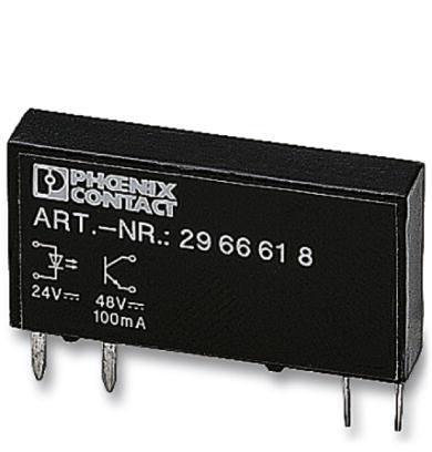 phoenix contact plug in solid state relay 2966618 opt 24dc 48dc