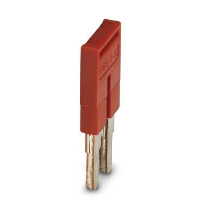 Phoenix Contact 3030161 FBS 2-5 Terminal block plug-in bridge red (10 pack)