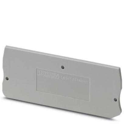 Phoenix Contact Terminal block end cover 3211317 D-PT 2,5-TWIN-MT (10 pack)