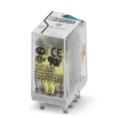 Phoenix Contact Plug-in relay 2903677 REL-IR4/LDP- 24DC/4X21