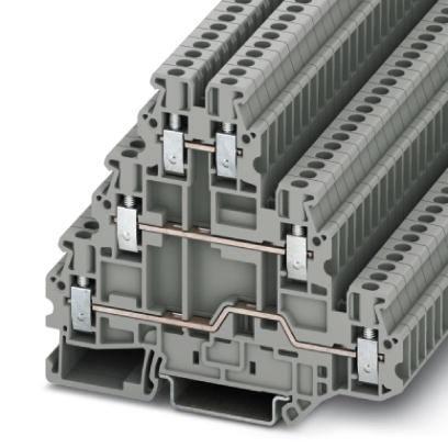 Phoenix Contact three-level terminal block screw gray 3214259 UT 2,5-3L