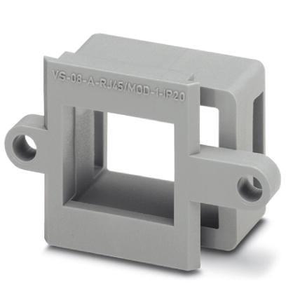 Phoenix Contact 1689433 VS-08-A-RJ45/MOD-1-IP20 Panel mounting frame, IP20