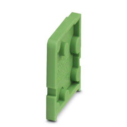 Phoenix Contact 1700011 D-FRONT 2,5-V-O.Z. PCB terminal block end cover (15 Pack) clearance