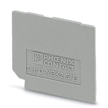 Phoenix Contact 1414035 D-MBK 2,5/E End cover (5 pack)