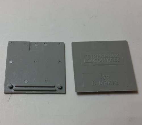 Phoenix Contact 1415021 D-MBK/E End cover (5 pack)