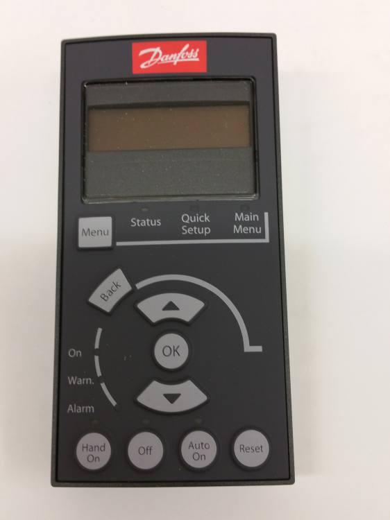 Danfoss 130b1124 Vlt 174 Control Panel Lcp 101 Numeric