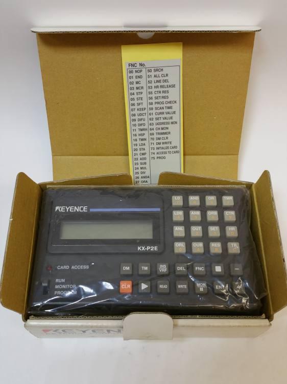 Keyence KX-P2E mini PLC programming console (clearance)