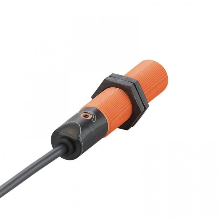 IFM KG-3008-BPKG/NI (KG5043) Capacitive sensor, M18, PNP, N/O, 8mm, cable