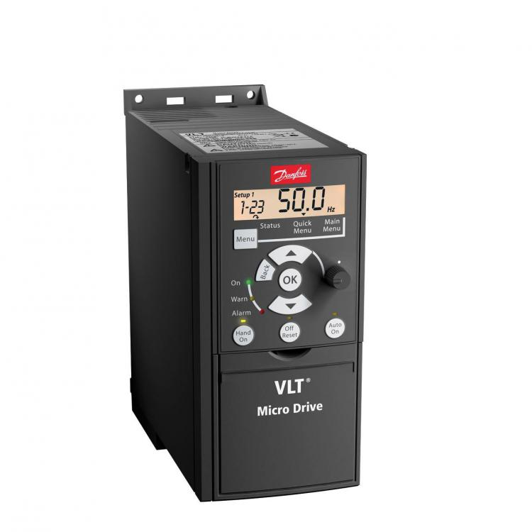 Danfoss Vlt Micro Drive Fc51 1 5kw Three Phase With Brake